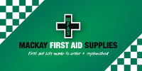 Mackay First Aid Supplies & Drug Testing Services – Mackay First Aid Supplies | Medical Emergency Kits for Work or Home Logo